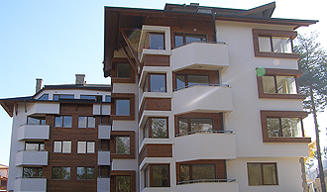 Residence complex in the town of Bansko